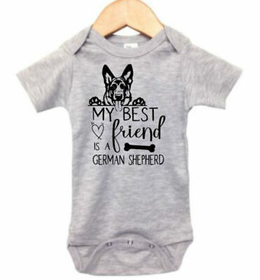 Baby German Shepherd Outfit, My Best Friend Is A German Shepherd, Baby