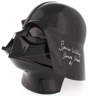 Darth Vader Full Helmet (NEW Spencer Wilding Signed Star Wars Darth Vader Full-Size Helmet Inscribed)