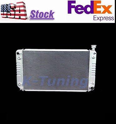 "3Row Radiator For Chevy C/K 1500 2500 3500 Pickup Suburban V8 GMC 1988-1995 28""W"