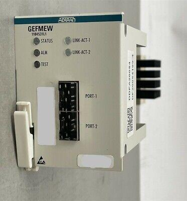 Adtran Opti-6100 GEFMEW 1184531L1 Ethernet Interface Module GIGE EOS 2 PT