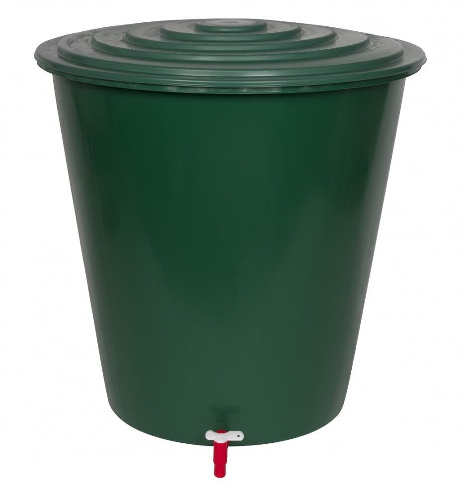 Regentonne 210 Liter Wasserspeicher Wasserfass Regenwassertank Wassertonne