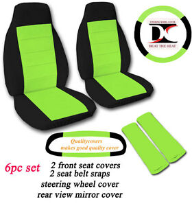 Buy Lime Green Car Seat Covers