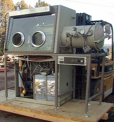 Vacuum Atmospheres Dlx-001-s-g Dri-lab Glove Boxante Chamber Controls