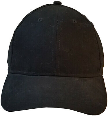 Erb Black Baseball Cap Style Bump Cap With Hard Insert For Ding Protection