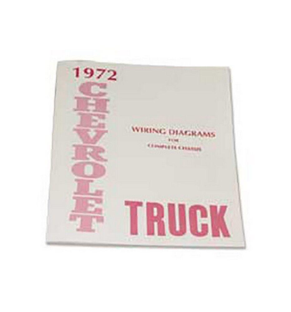 1972 Chevy Truck Wiring Diagram