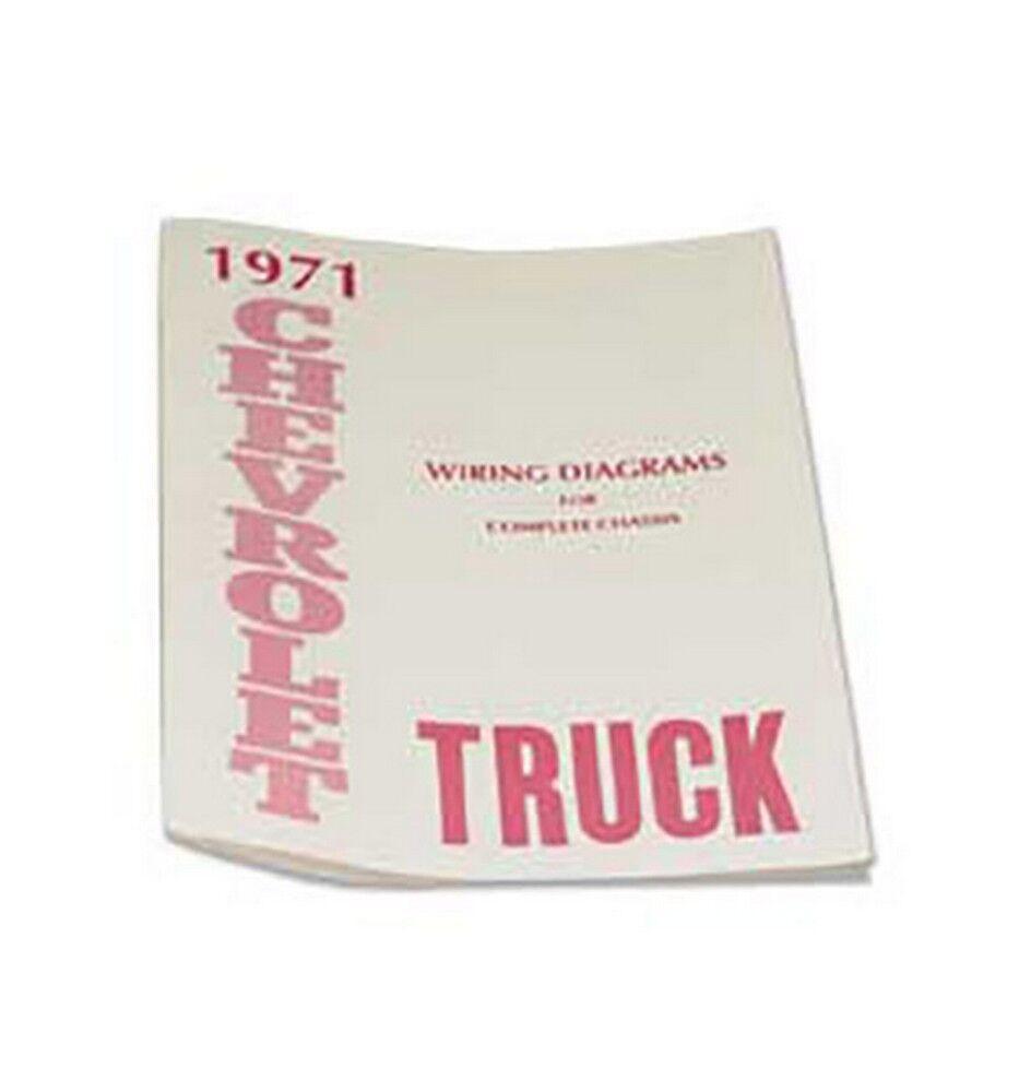 1971 Chevy Truck Wiring Diagram Ebay