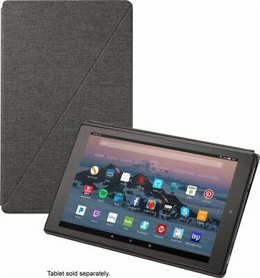 Amazon Fire HD 10 Tablet Case 7th Gen 2017 Release (Charcoal Black) - No Box VG