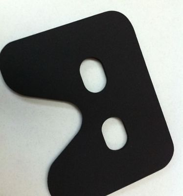 Rowing Machine foam rubber Seat Pad. Fits Concept 2 all models.