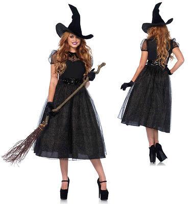 Womens Sexy Darling Spellcaster Witch (Darling Womens Kostüme)