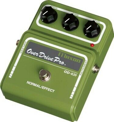 Maxon Guitar Effects Overdrive Pro OD820