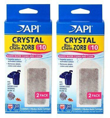 API Crystal Bio-Chem Zorb SIZE 10 Internal Filter Cartridge