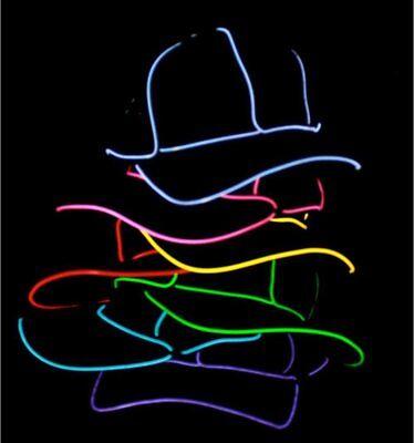 El Wire Hat (Light Up EL Wire Hat)