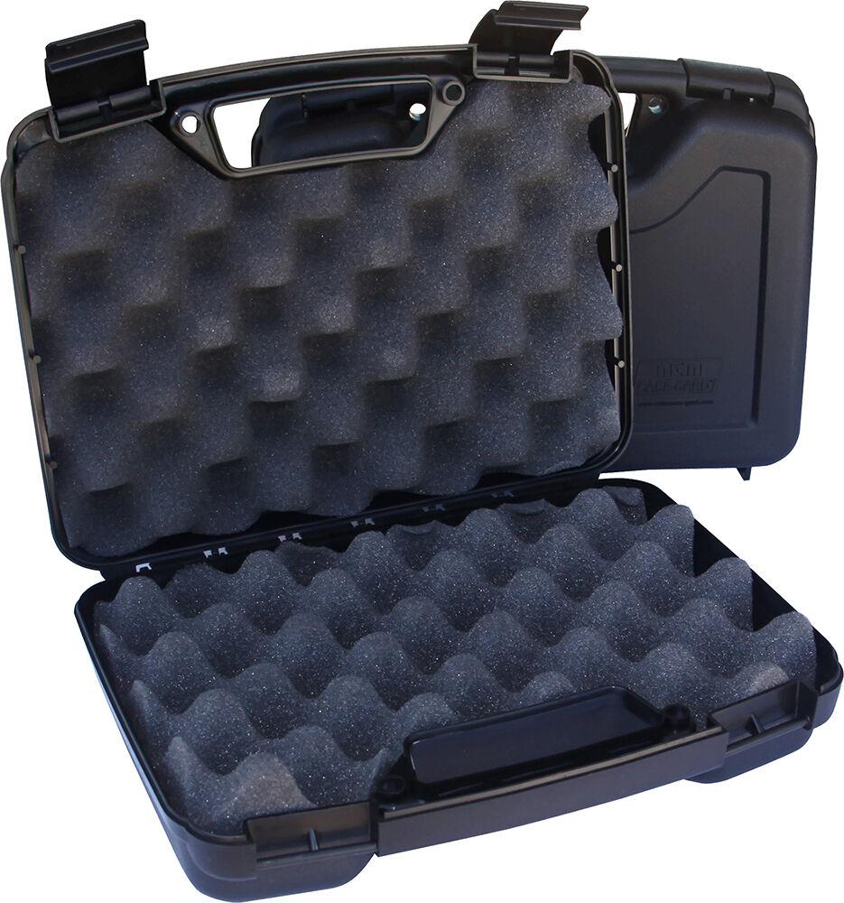Hard Poly GUN CASE for M&P Shield, Bodyguard, 45, 22 Hand Gu