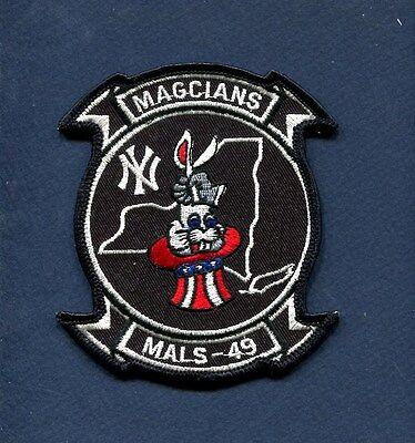 MALS-49 MAGICIANS USMC MARINE CORPS AVIATION LOGISTIC Squadron Patch