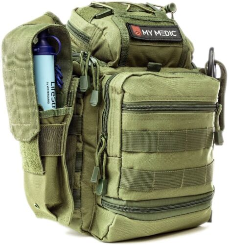 NEW My Medic The Recon Basic Emergency First Aid Kit Green