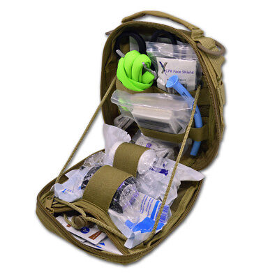 Lightning X Products Premium Nylon MOLLE Pouch Emergency Kit J, Ideal for Tactic