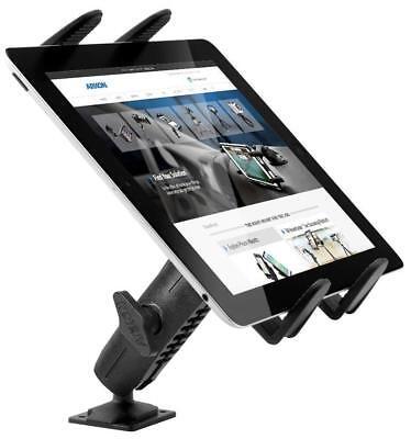 Drill-Base Tablet Mount Car Truck Heavy-Duty Adjustable iPad 4 3 2 Air Samsung