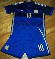 Jersey soccer avec Short ARGENTINE 2014 - MESSI - AWAY