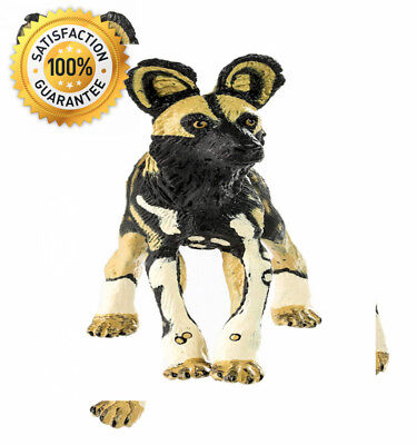 (Safari 239729 African Wild Dog Animal Figure )