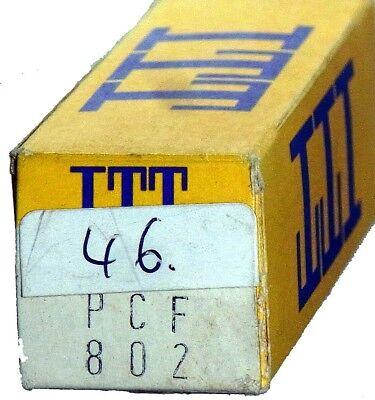 GEPRÜFT: PCF802 Radioröhre, Hersteller ITT Lorenz. ID16850