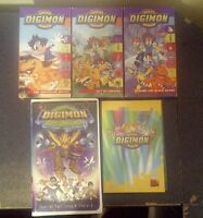 Digimon DVD and VHS Videos