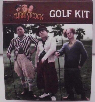 The Three STOOGES Golf (Mega Mini) Kit Golf Set m.Mini Buch,Golfball u.a NEU OVP ()