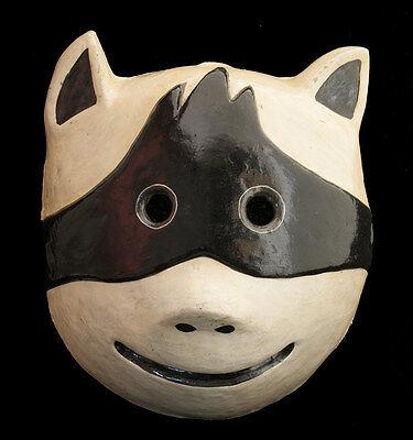 Mask Tribale Himalaya of Ritual Nepalese Paper Mache POLYCHROME-PANDA-1528