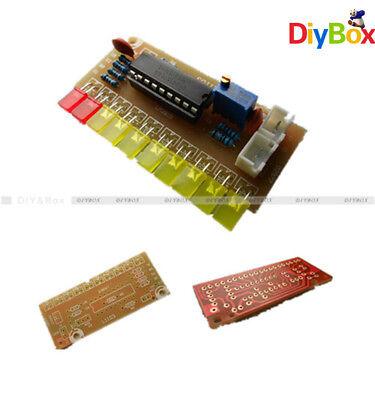 Lm3915 Funny 10 Audio Level Indicator Diy Kit Electronic Audio Indicator Suite D