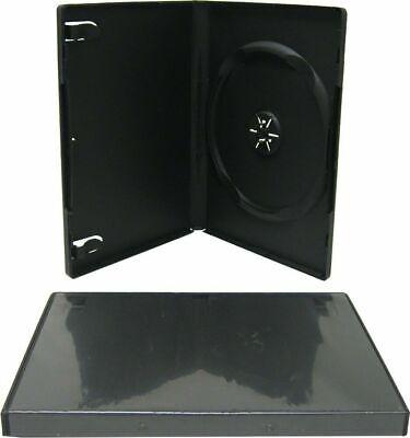 Dvd Case Generic Black Plastic Single 14mm