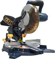 New - 8.25 INCH COMPOUND MITRE SAWS WITH LASER - Surplus Price!!