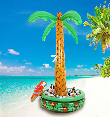 NEW Inflatable 6ft Blow Up Palm Tree Hawaiian Pool Beach party Decor Lovely