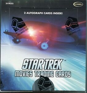 2014 Star Trek Movies Sealed Box with 2 autographs and more