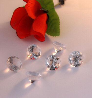 Dekosteine klar Diamanten 20mm 50 Stück Tischdeko Hochzeit Deko Streuteile