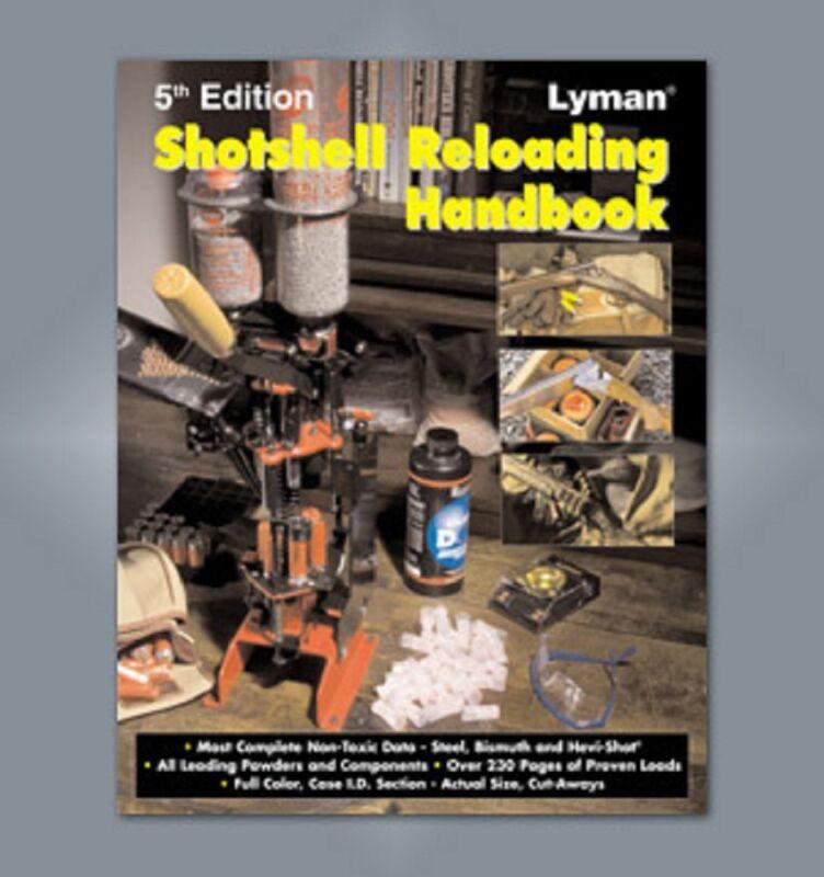 Lyman Shotshell Reloading Handbook: 5th Edition Reloading Manual   # 9827111