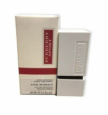 Burberry Sport 1.7 oz EDT spray womens perfume 50 ml NIB Tester