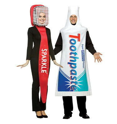Toothbrush and Toothpaste Costume Set