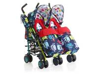 Cosatto cuddle monster 2 double stroller