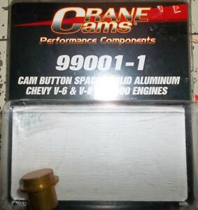 CRANE CAMS SOLID ALUMINUM CAM BUTTONS S/B & BB.