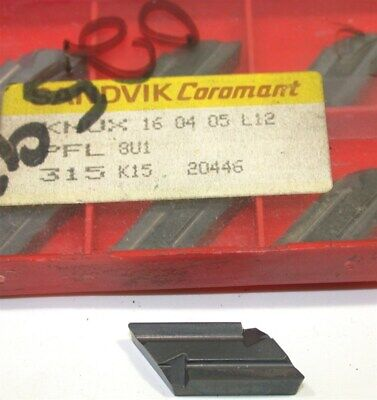Lot Of 7 New Sandvik Indexable Turning Carbide Inserts Knux 160405l12 315