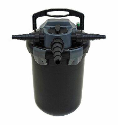 AquaForte CBF 8000 Filtro Estanque Presión 8000l 11 Vatios UV Carificador Con