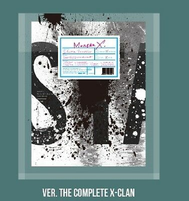 MONSTA X 1st Repackage Album SHINE FOREVER THE COMPLETE X-CLAN B Ver. CD+Booklet