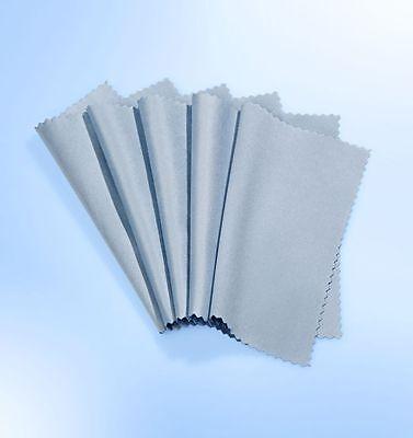 5 x Reinigungstuch Mikrofasertuch Brillenputztuch Microfaser Brillen Reinigung