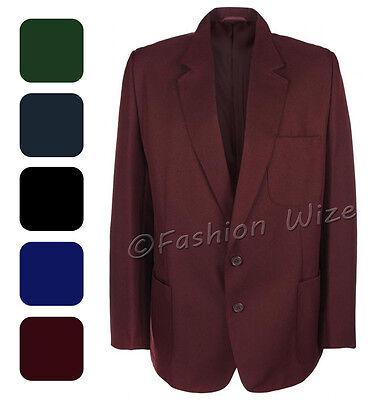 Купить Miss Chief - Girls School Blazer Jacket Uniform Black Royal Blue Brown Green Burgundy/Maroon