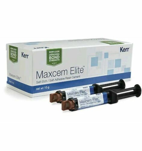 Maxcem Elite Self-Etch/Self-Adhesive Resin Cement - Clear by KERR SALE !!!