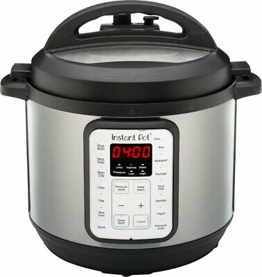 Instant Pot Duo Viva 6 Quart 9-in-1 Multi-Use Pressure Cooker with Easy Seal Lid