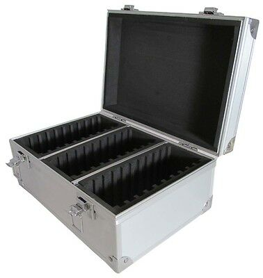 Certified Graded Coin Slabs Box Aluminum Cargo Case Durable Storage PCGS NGC US
