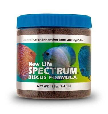 (New Life Spectrum Discus Formula 1mm Sinking Fish Pellets Color Enhancing 150g)