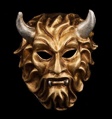 Mask from Venice Devil Golden and Silver Carnival Venetian 1025 -voa