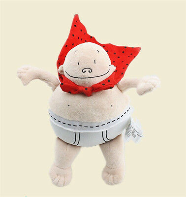 Captain Underpants Merry Makers Plush Doll Figure Toy 8 inch Gift - Doll Maker Halloween