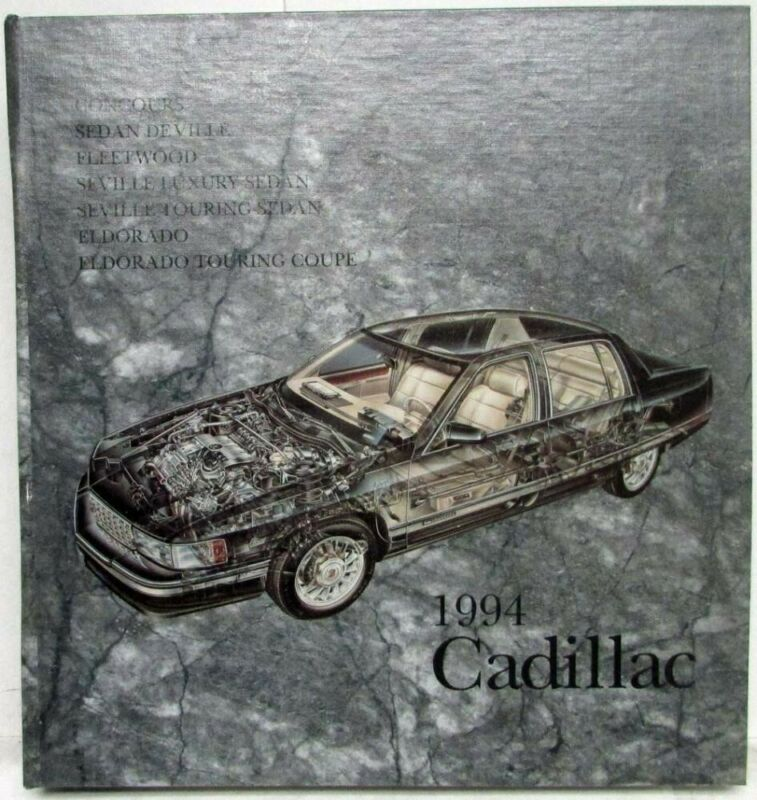 1994 Cadillac New Models Press Kit Large Editors Edition Media Eldorado Seville